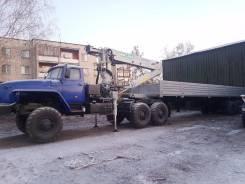 Урал. Тягач с манипулятором иф-300 2015 г., 11 500 куб. см., 9 000 кг.