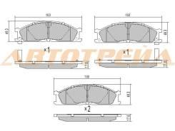 Колодки тормозные FR NISSAN NARVA D21/NP300/PATHFINDER R50