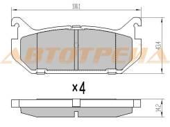 Колодки тормозные RR MAZDA 629 94-