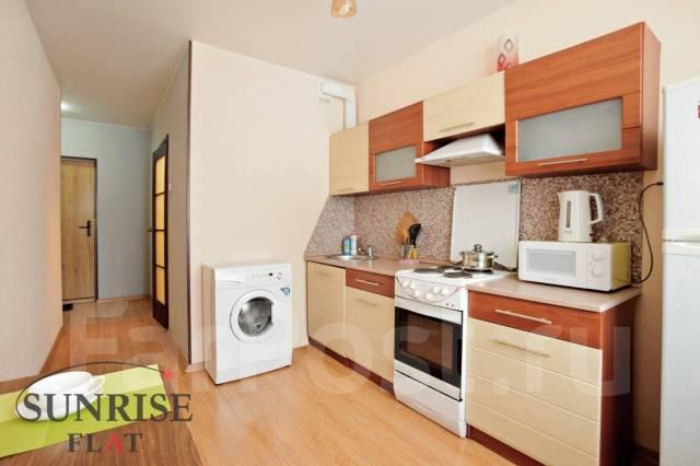 1-комнатная, улица Аллилуева 12а. Третья рабочая, 37 кв.м. Кухня