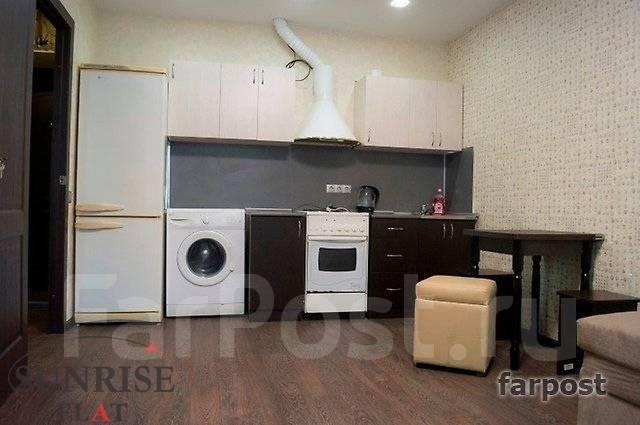 2-комнатная, улица Военное Шоссе 31. Снеговая, 33 кв.м. Кухня