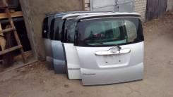 Дверь багажника. Toyota Ractis, NCP100, NCP105, SCP100 Двигатели: 1NZFE, 2SZFE