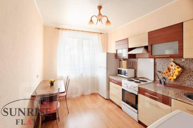 1-комнатная, улица Аллилуева 12а. Третья рабочая, 37кв.м. Кухня