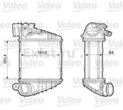 Интеркулер VAG 1J0-145-803-T Охладитель наддува воздуха. Skoda Octavia, 1U2, 1U5 Двигатели: BFQ, AGR, ARZ, ASZ, ARX, AEG, AEE, AVU, AQM, AUQ, APK, AUM...