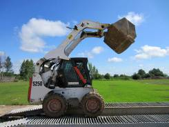 Bobcat S250. Минипогрузчик Bobcat 250, 3500 м/ч, навеска х 6 шт.