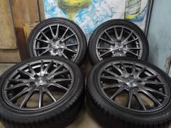 Продам Супер Стильные Редкие колёса Weds Velva Sport+Лето Жир225/45R17. 7.0x17 5x114.30 ET40