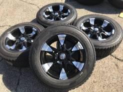 265/60R18 Dunlop SJ7 на литье 6/139,7 Из Японии (18164). 9.0x18 6x139.70 ET13 ЦО 110,0мм.
