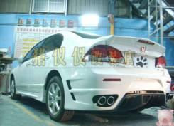 Бампер задний . Honda Civic (FD) 2005 - 2010 .