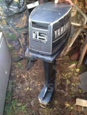 Yamaha. 15,00л.с., 2-тактный, бензиновый, нога L (508 мм)