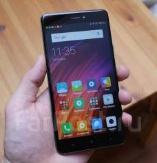Xiaomi Redmi 4X. Новый, 16 Гб, Черный, 3G, 4G LTE, Dual-SIM