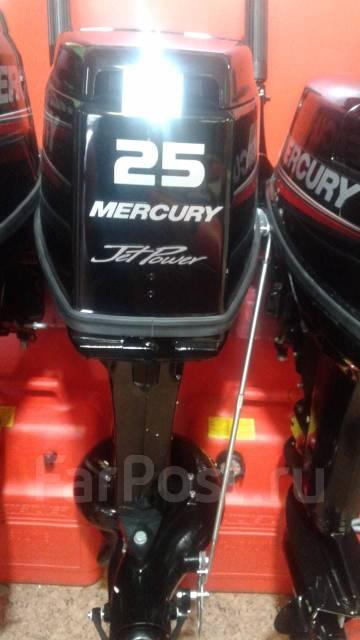 Mercury. 25,00л.с., 2-тактный, бензиновый, нога S (381 мм), Год: 2017 год