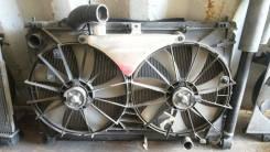 Радиатор охлаждения двигателя. Toyota Mark X, GRX121, GRX120, GRX125 Двигатели: 3GRFSE, 4GRFSE