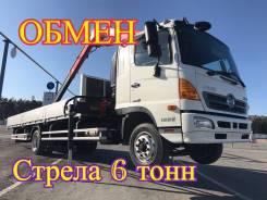 Hino 500. Самогруз , 2013 г. в. стрела 6 тонн, 10 000 кг., 14 м.