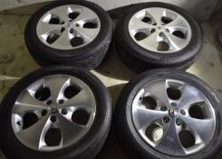 Отличные комплект на Toyota Alphard+Лето 225/55R17 Dunlop