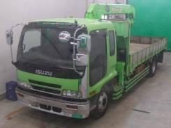 Isuzu Forward. Бортовой грузовик с манипулятором , 8 220 куб. см., 5 000 кг. Под заказ