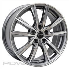 PDW Wheels. 6.5x16, 4x100.00, ET45, ЦО 60,1мм. Под заказ