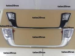 Рамка для крепления номера. Toyota Land Cruiser, URJ202, UZJ200, VDJ200, URJ202W, UZJ200W