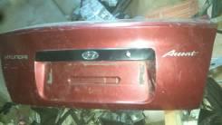 Крышка багажника. Hyundai Accent