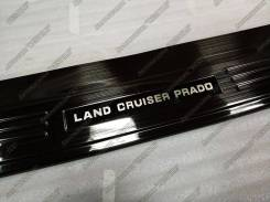Накладка на бампер. Toyota Land Cruiser Prado, KDJ150L, TRJ150W, TRJ150, GDJ150L, GRJ150L, GRJ150W, GDJ150W, GRJ150, GRJ151W, TRJ12 Двигатели: 1KDFTV...