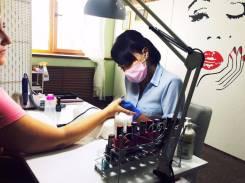 Услуги косметолога, маникюра, педикюра, массаж, оформление бровей,