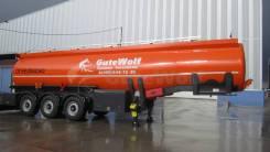 Gutewolf. Продается алюминиевый полуприцеп для светлых нефтепродуктов GuteWolf, 24 000 кг.