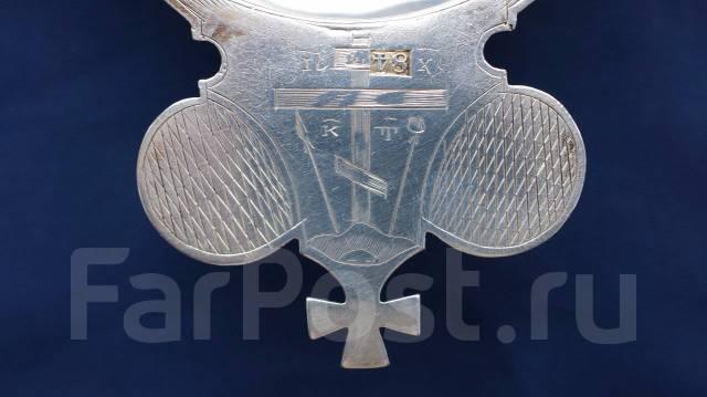 Старинный серебряный корец для теплоты и вина. Россия, Москва, 1847 г. Оригинал
