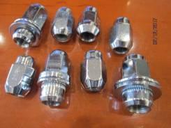 Гайка на колесо. Toyota Land Cruiser, FZJ100, HDJ100, HDJ100L, J100, UZJ100, UZJ100L, UZJ100W Двигатели: 1FZFE, 1HDFTE, 1HDT, 2UZFE