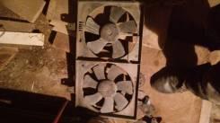 Вентилятор охлаждения радиатора. Nissan Avenir Двигатель QG18DE