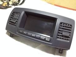 Дисплей. Toyota Mark II Wagon Blit, GX110, GX110W, GX115, GX115W, JZX110, JZX110W, JZX115, JZX115W Toyota Mark II, GX110, GX115, JZX110, JZX115 Двигат...