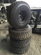 Комплект колес, Диски R15 10 ET-40, Резина Geolandar M/T 35/12.5/15. 10.0x15 6x139.70 ET-40 ЦО 110,0мм.