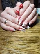 Наращивание ногтей, педикюр