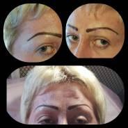 Перманентный макияж, ресницы, волосы