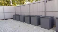 Мусорный контейнер, бак, ТБО, ТКО объемом 0,75м3