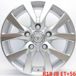 Toyota. 8.0x18, 5x150.00, ET56, ЦО 110,1мм.
