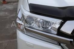 Накладка на фару. Toyota Land Cruiser, GRJ200, J200, URJ200, URJ202, URJ202W, UZJ200, UZJ200W, VDJ200 Двигатели: 1URFE, 1VDFTV