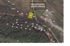 Земельный участок для строительства дома. 1 500 кв.м., электричество, вода, от частного лица (собственник). Схема участка
