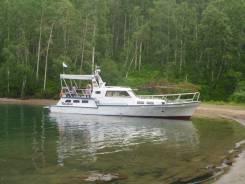 Продам моторную яхту. Год: 1984 год, длина 15,00м., двигатель стационарный, 81,00л.с., дизель