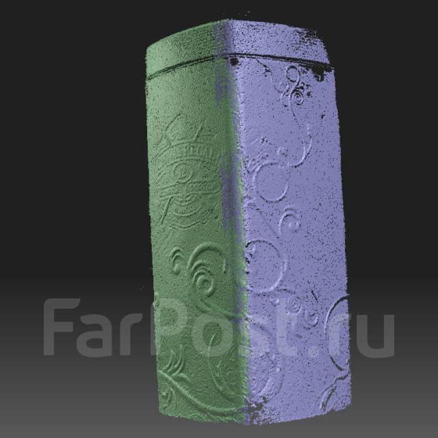 3D сканирование поверхностей, предметов.