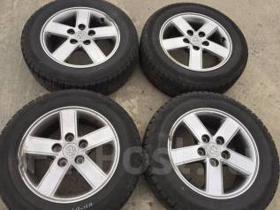195/65 R15 Bridgestone ST30 литые диски 5х114.3 (L17-1510). 6.0x15 5x114.30 ET50