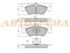 Колодки тормозные RR MERCEDES G-CLASS W460/W461/W463 89-00/SPRINTER 96-06