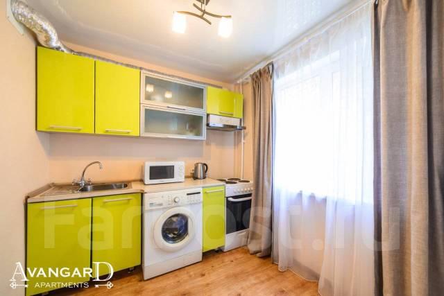 1-комнатная, проспект Красного Знамени 85. Некрасовская, 34,0кв.м. Кухня