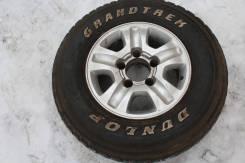 Запасное колесо на Toyota Land Cruiser. 8.0x16 5x150.00 ET60