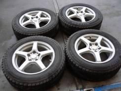 Комплект литых колес Sibilla с зимней резиной 215/60R-16 Bridgestone. 6.5x16 5x114.30 ET52 ЦО 72,0мм.