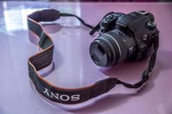 Sony Alpha SLT-A58 Kit. 20 и более Мп, зум: без зума
