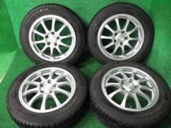 Комплект литых колес Weds с зимней резиной 205/60R-16 Pirelli. 6.5x16 5x114.30 ET38 ЦО 72,0мм.
