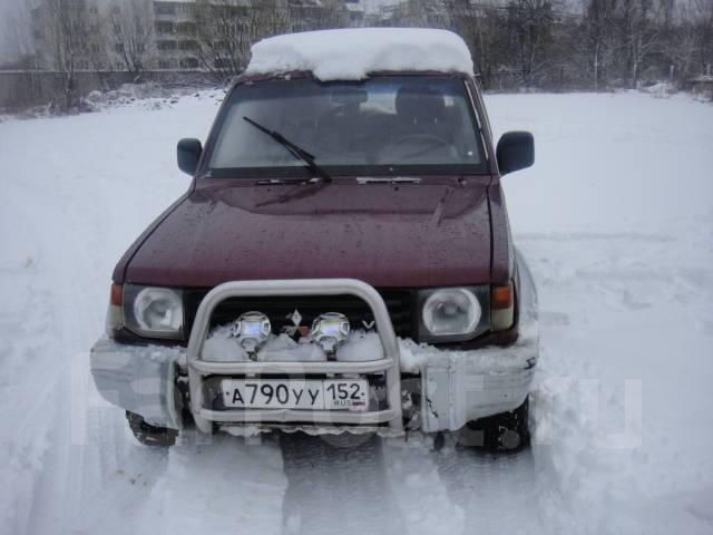 Mitsubishi Pajero. 6G72
