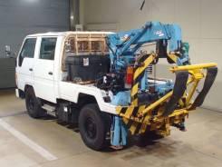 Toyota Dyna. Бортовой грузовик с манипулятором Toyota DYNA, 3 000куб. см., 4x4. Под заказ