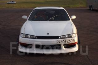 Капот. Nissan 240SX Nissan 200SX, S14 Nissan Silvia, S14, CS14 Двигатели: SR20DET, SR20DE