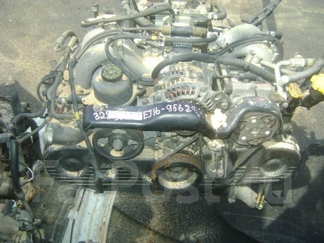 Двигатель в сборе. Subaru Impreza, GC4, GF3, GF4 Двигатель EJ16E