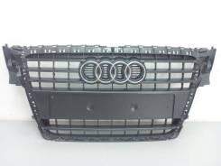 Решетка радиатора. Audi A4, B6, 8K5/B8, B5 Audi S4 Двигатели: BAU, CDHB, CAEA, ALZ, CDNC, CAGA, CAEB, AVG, CDNB, BDG, BFC, AWX, ALG, AHH, AJL, BDV, AK...
